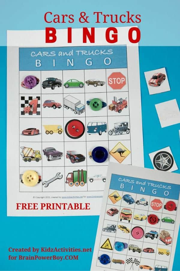 cars-and-trucks-bingo