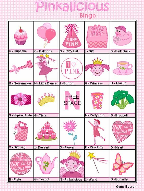 pinkalicious-bingo