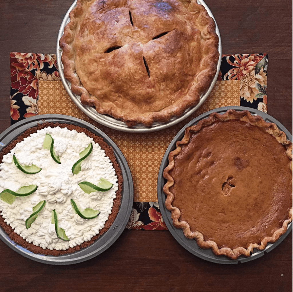 thanksgiving-pies-apple-pumpkin-and-key-lime