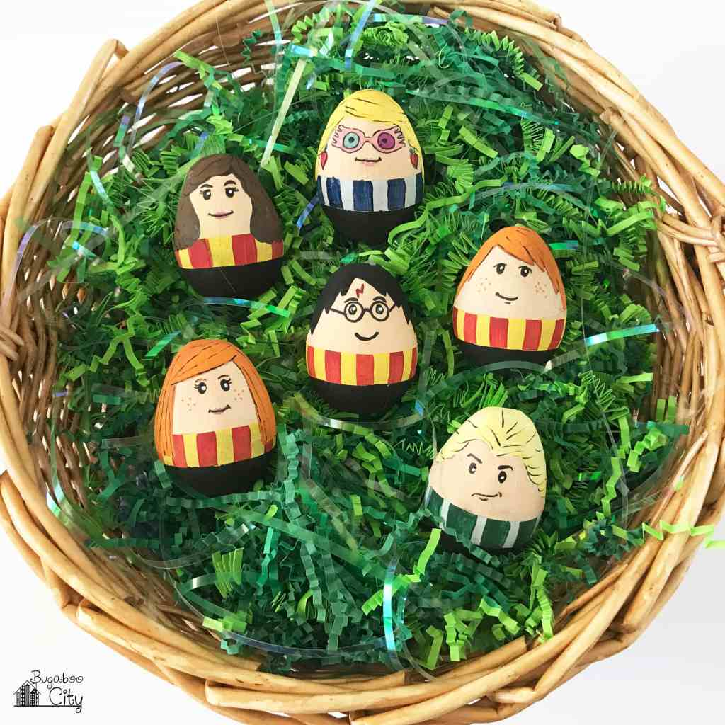 Harry Potter Easter Eggs BugabooCity Tutorial