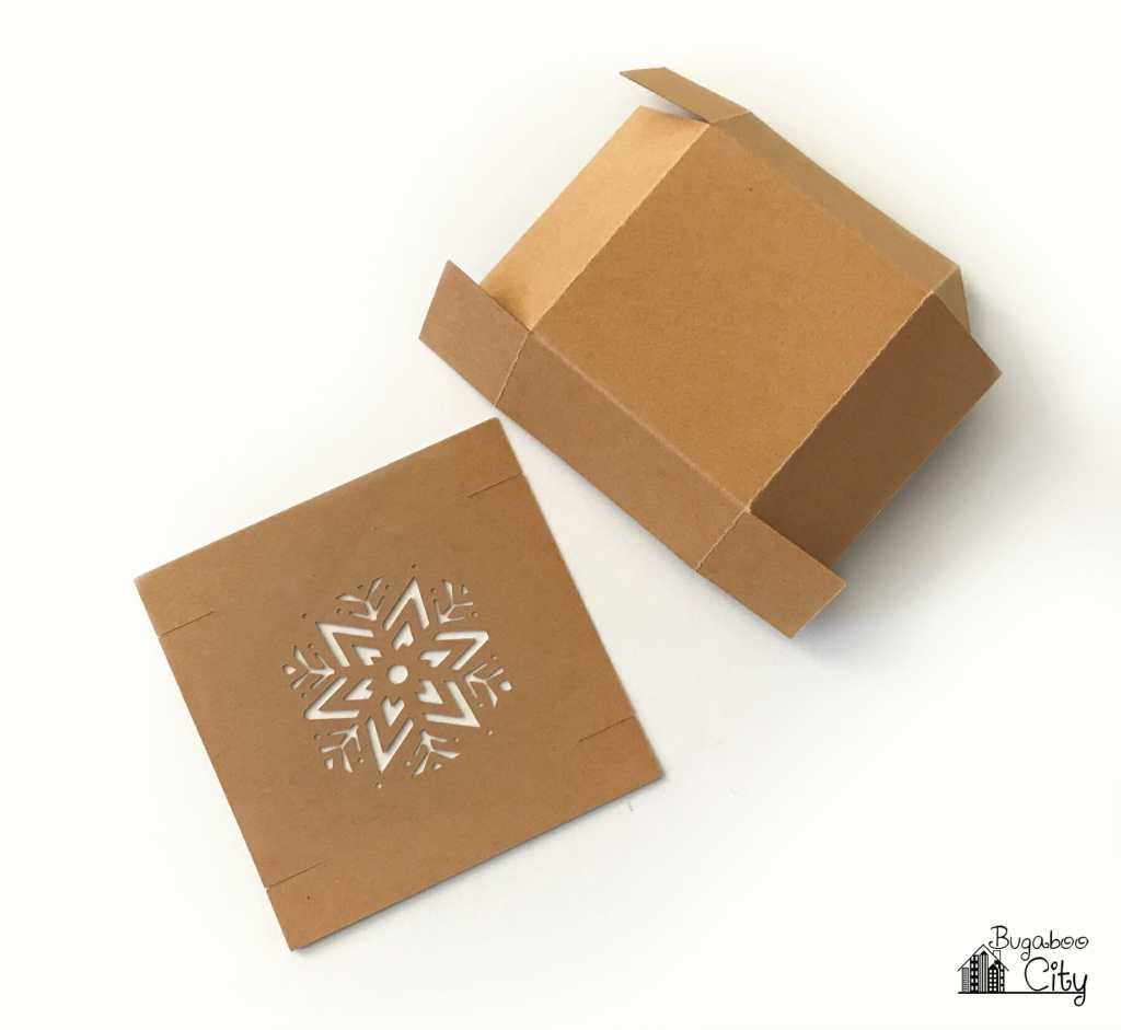 Diy Christmas Boxes With Free Cut File Bugaboocity