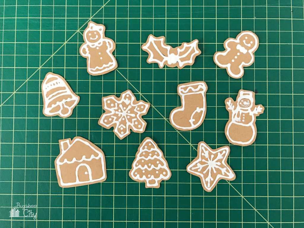 DIY Gingerbread Holiday Magnets