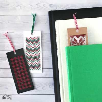 Winter Cross-Stitch Bookmarks – Free Pattern