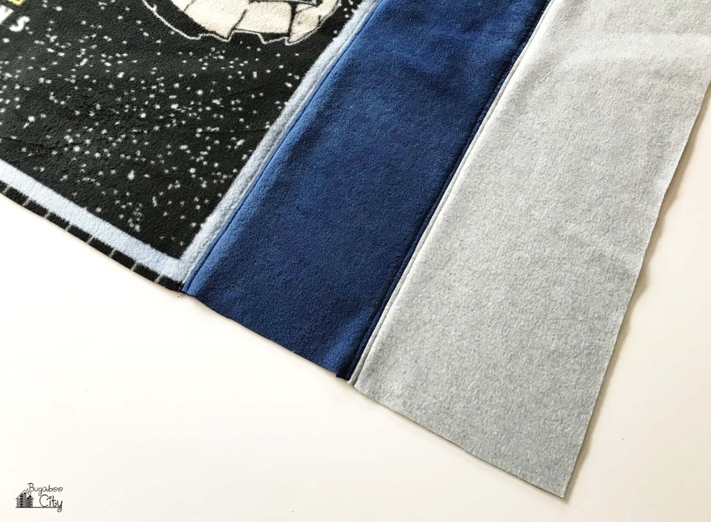 DIY Star Wars Fleece Quilt with Free Pattern