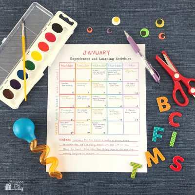 In-Home Preschool Printables