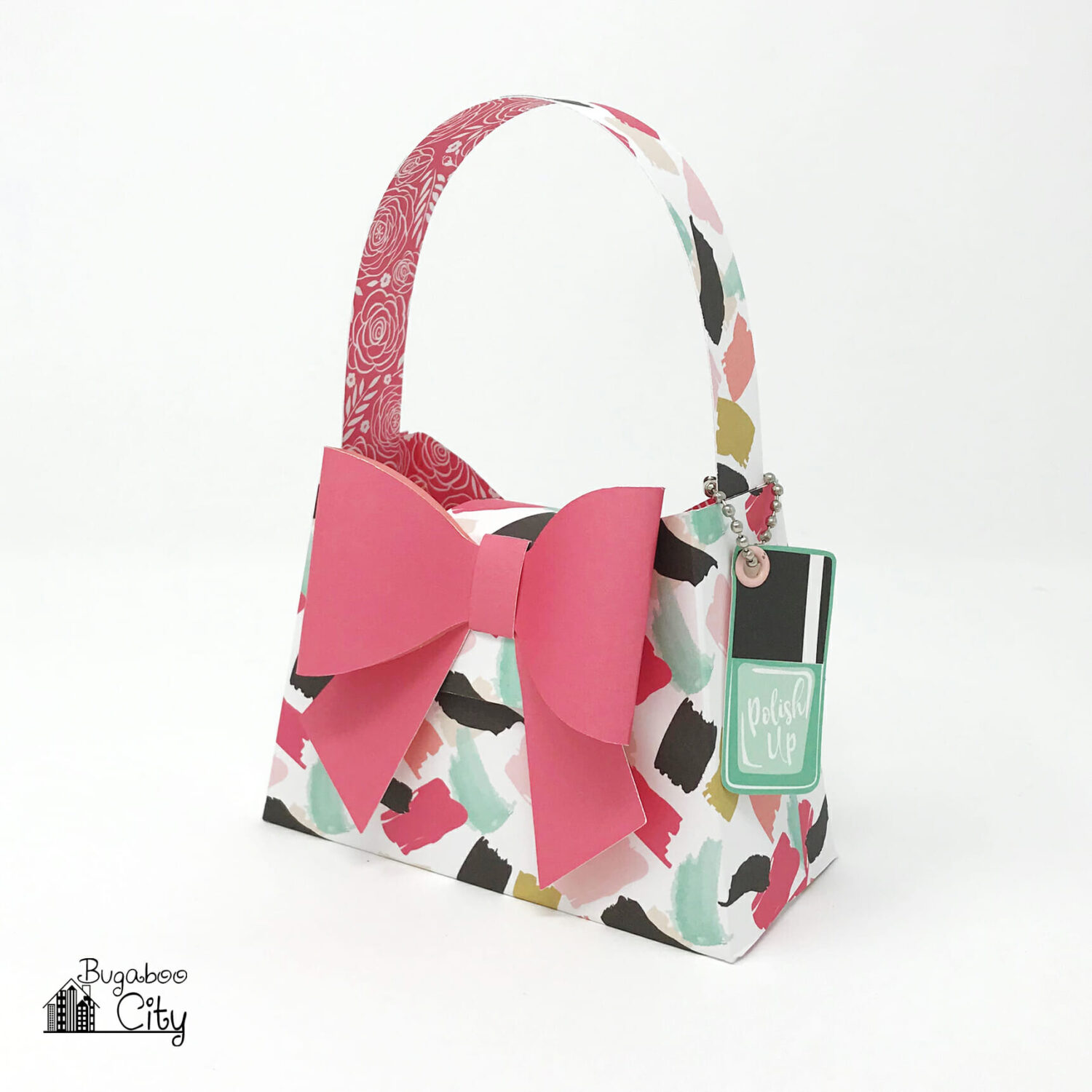 DIY Paper Purses - with the Fashionista Paper Collection - BugabooCity