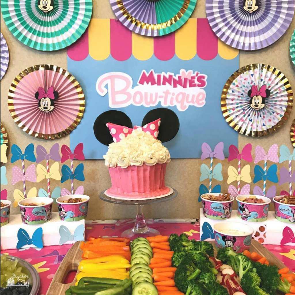 Minnies Bowtique Birthday Party DIY Ideas