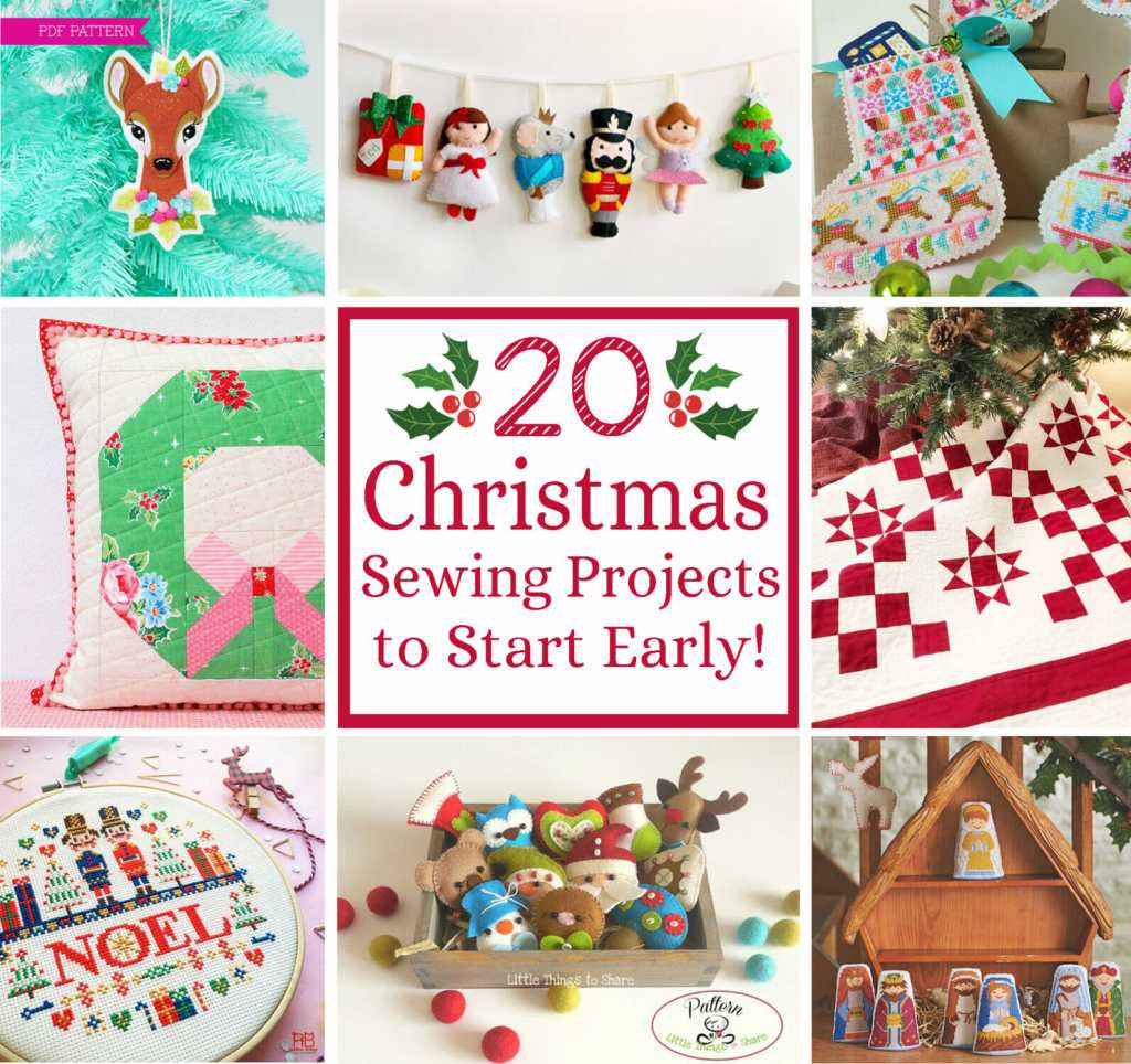 20 christmas sewing projects to start early