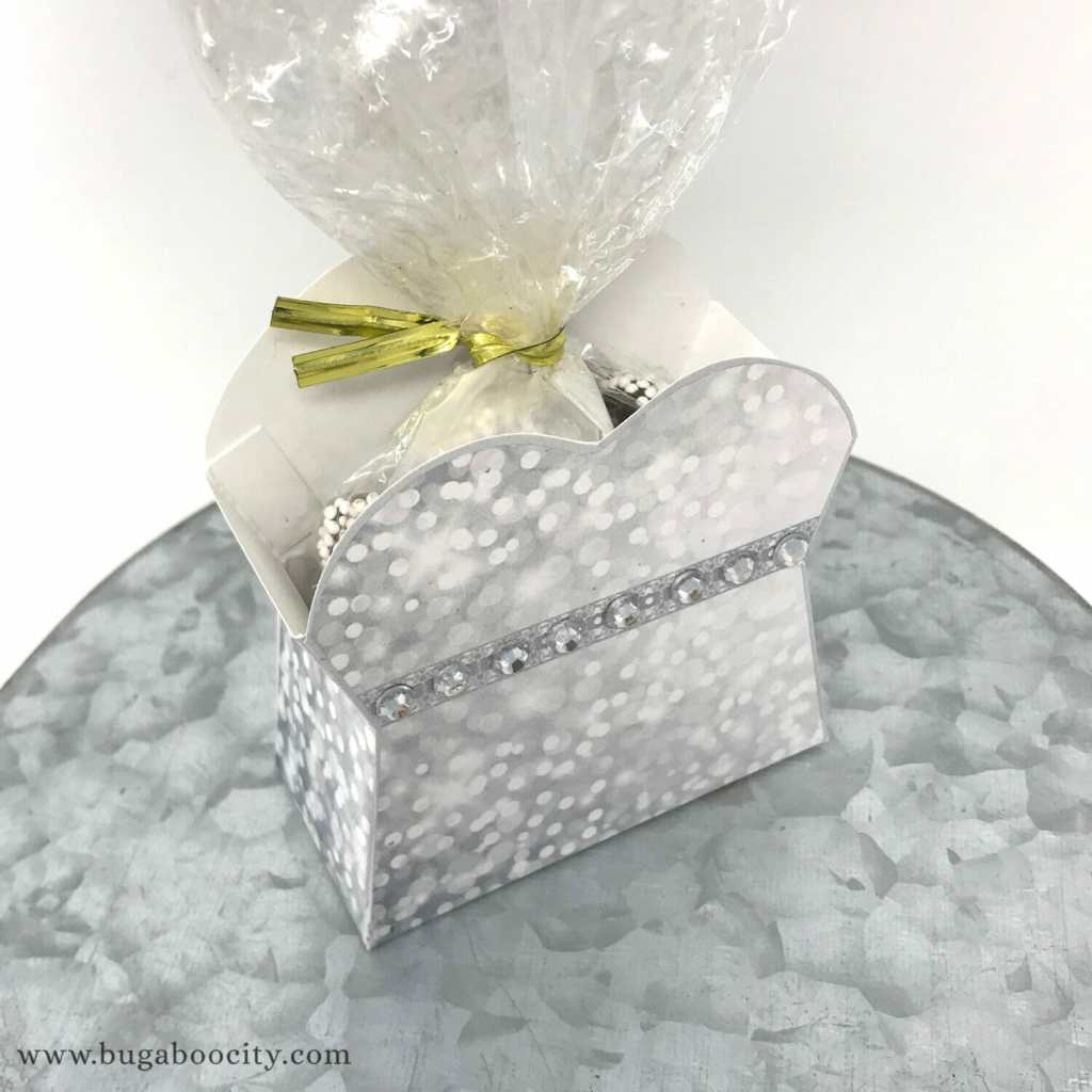 Diy Wedding Dress Treat Box Bugaboocity