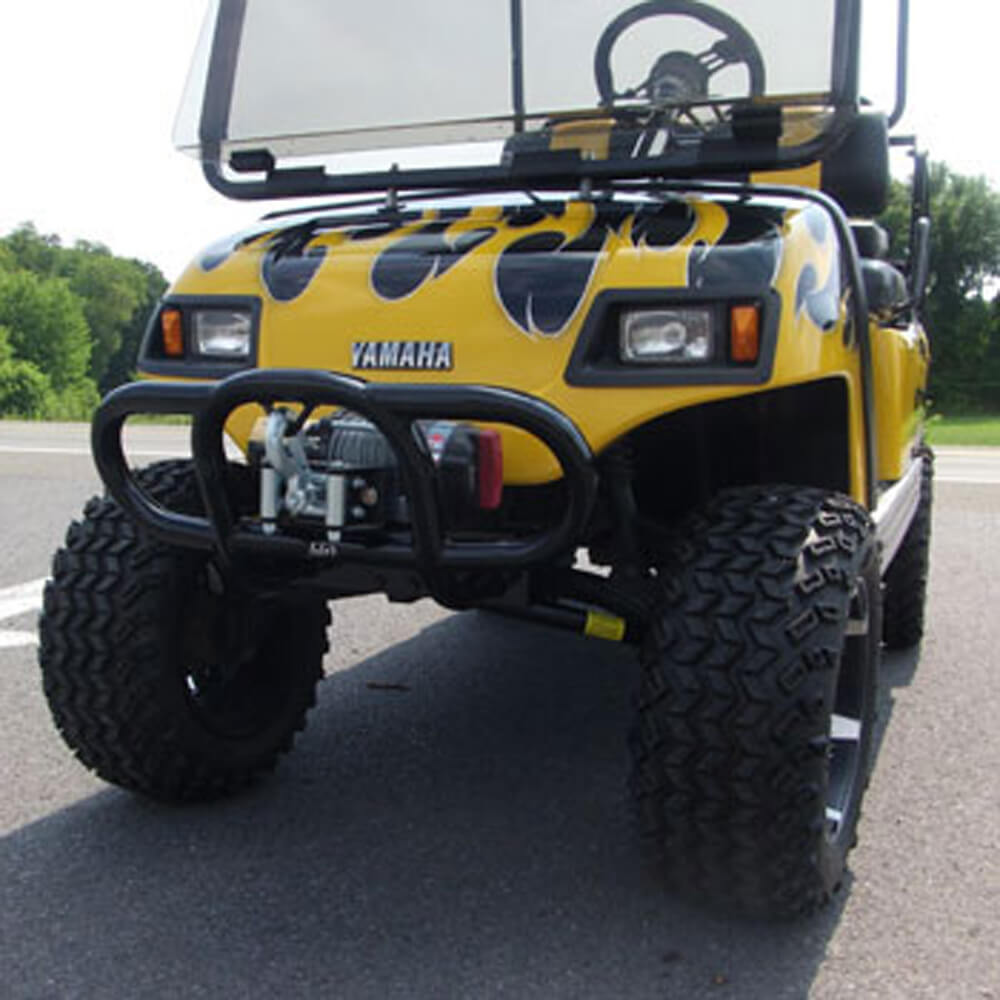 Jake S Black Yamaha Winch Mount Bumper Models G14 G16 G19