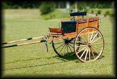 Old Time Gig A Classic Old Style Two Wheel Vehicle Set Up For Fast Driving 3 Standard Sheets