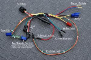 Wiring Harness, Engine, For Tomberlin Crossfire
