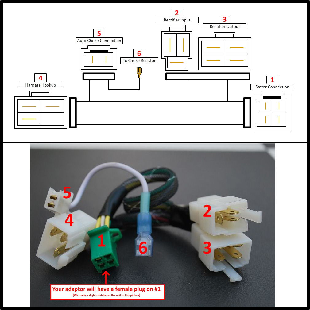 gy6 5 wire rectifier wiring diagram gy6 image gy6 rectifier wiring diagram jodebal com on gy6 5 wire rectifier wiring diagram