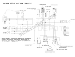 Dazon Raider Classic  Wiring Diagram  Buggy Depot Technical Center