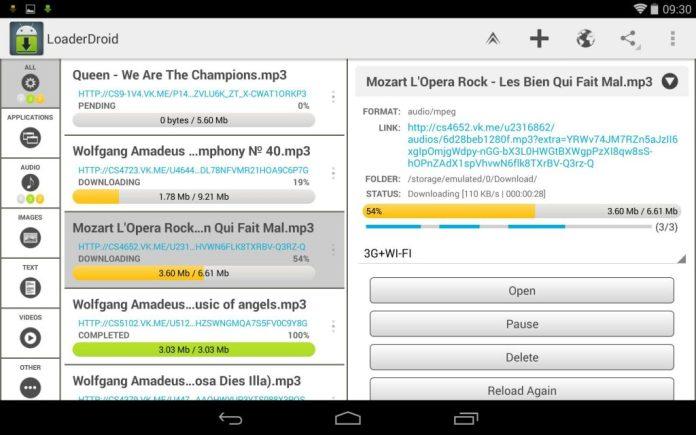 Qual é o melhor Gerenciador de download para Android?