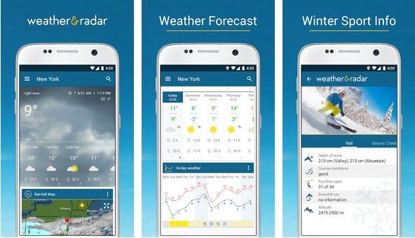 App widget de Clima: confira os 15 melhores para o seu Android