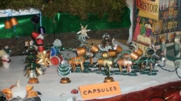 crèche de Noël Fête de la Bugne