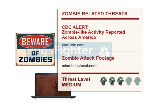 zombie invasion ads