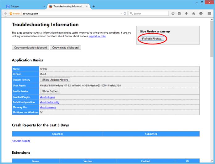 Mozilla Firefox обновить Firefox
