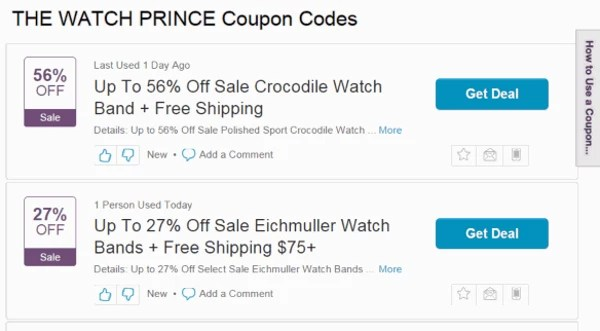 ads by princecoupon