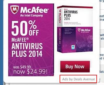 deals avenue ads