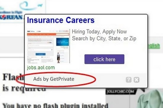 get private ads