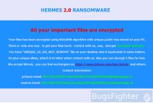 Hermes 2.0 Ransomware