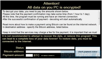 Variation of CryptON Ransomware