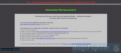 Nemesis Ransomware