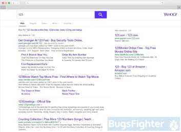 Search.yahoo.com in Safari on Mac