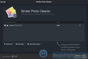 Similar Photo Cleaner start window