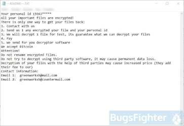 Jamper Ransomware (ransom note)