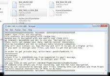 Aurora Ransomware (.peekaboo extension)