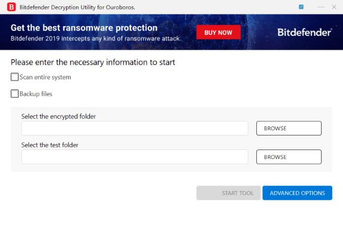 BitDefender Decryption Utility for Ouroboros