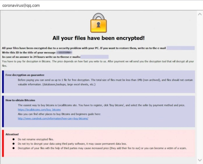 dharma-ncov ransomware
