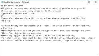 Rhino Ransomware (ReadMe_Decryptor.txt)