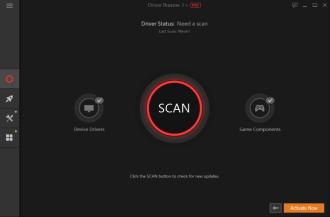 Driver Booster start screen