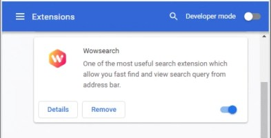 Wowsearch extension