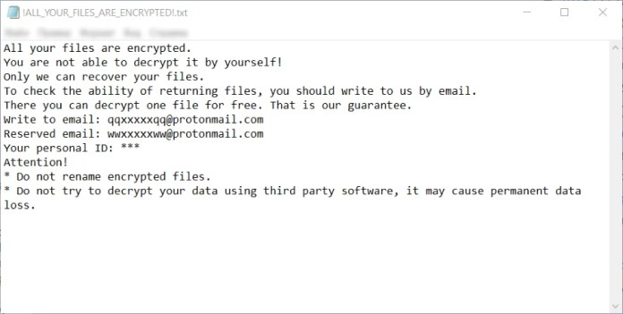 pl ransomware