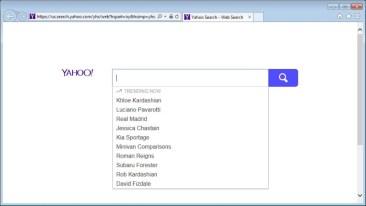 Us.search.yahoo.com page
