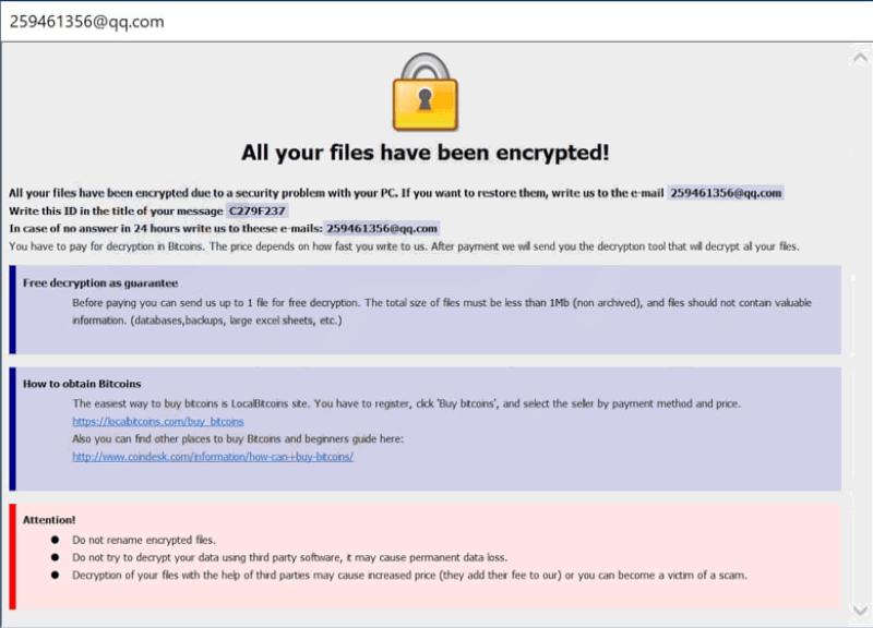 dharma-259 ransomware
