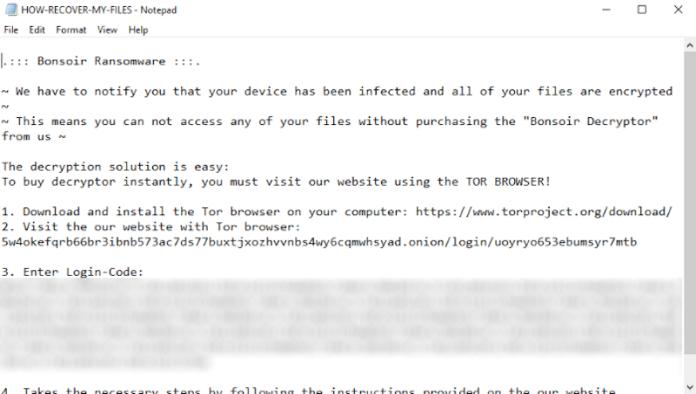 bonsoir qnap nas ransomware
