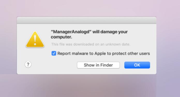 gestionnaire d'alerte analogique