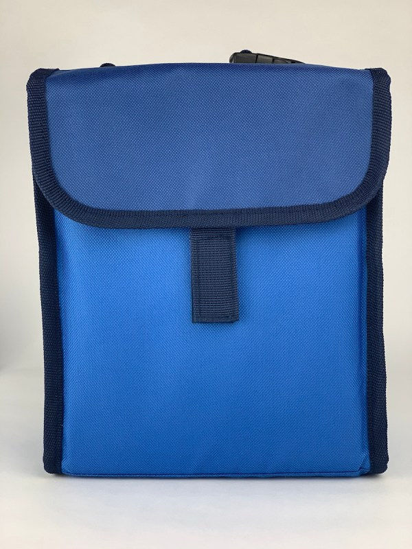 Boxy Lunch Bag blue front