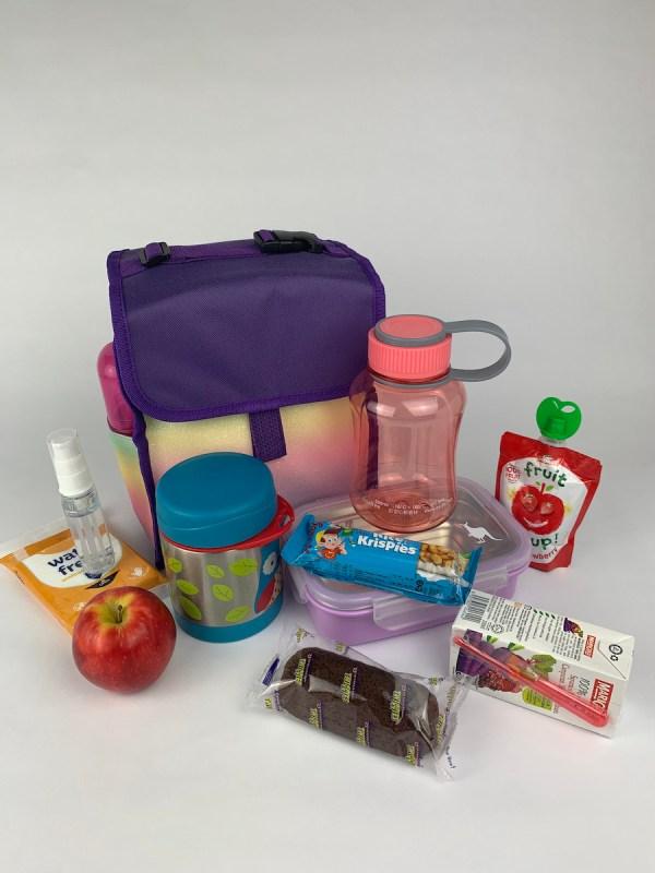 Boxy Lunch Bag capacity