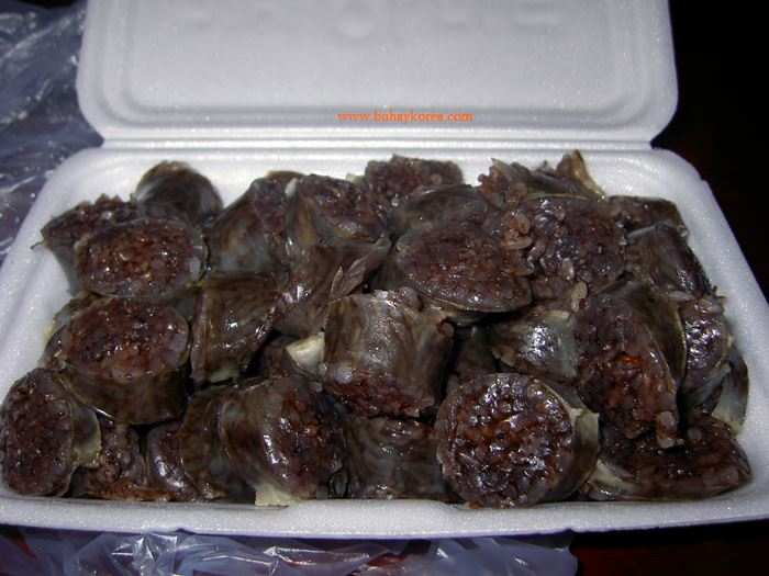 Blood sausage - Korean style