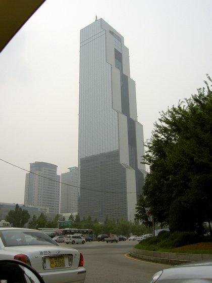 COEX building in Seoul