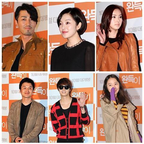 Top: Cha Seung Won, Hwang Bo Ra, Lee Da Hee B:Jang Hyun Sung, Jung Il Woo and So Ee