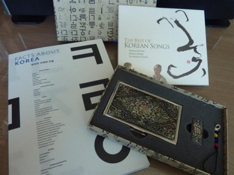Blog giveaway: About Korea