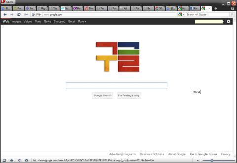 Google celebrates Hangeul Day.